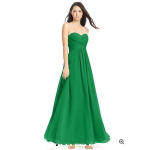 Azazie Yasmine Dress in Emerald